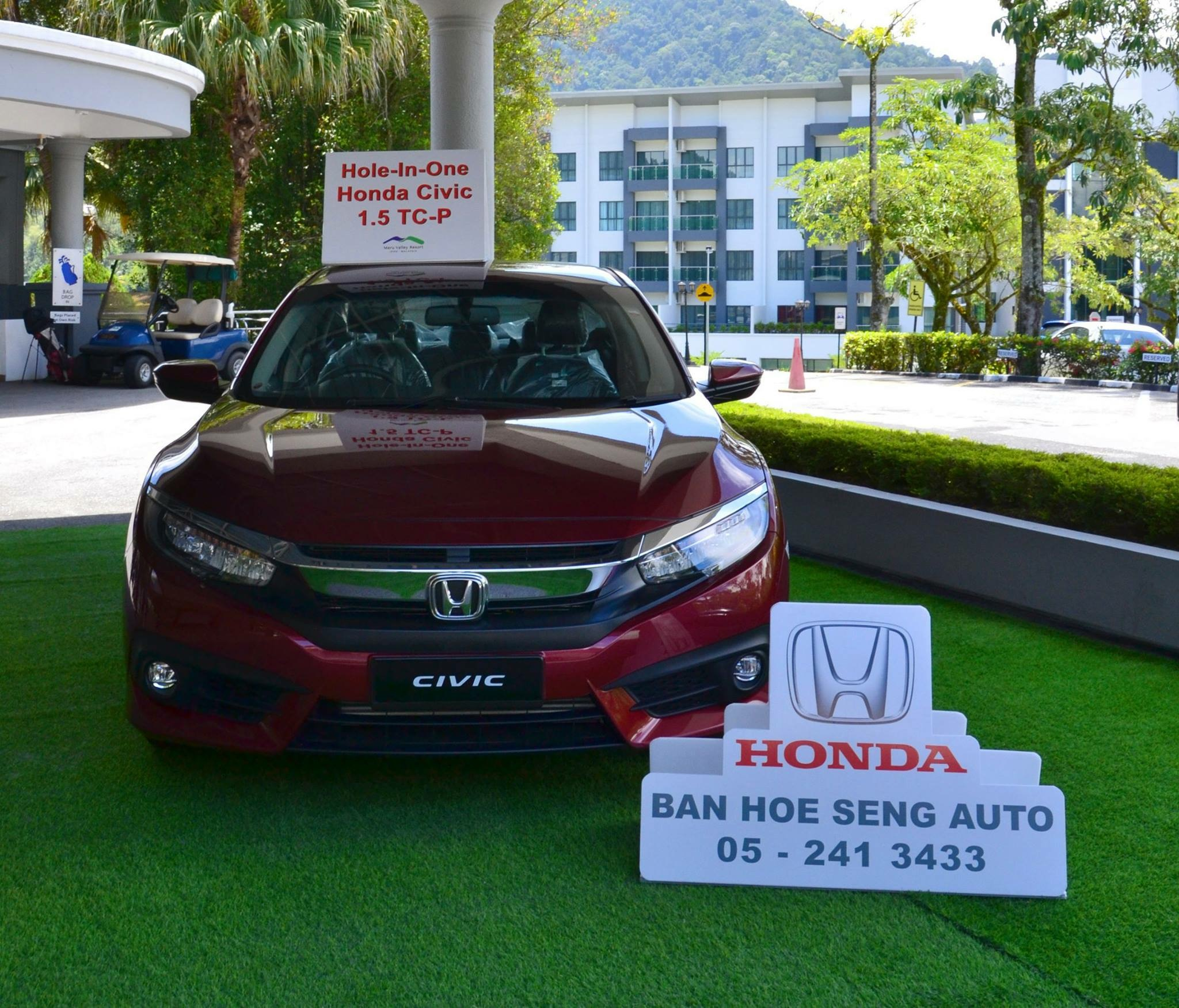 Honda Civic Hole in One Prize at Perak Amateur Open