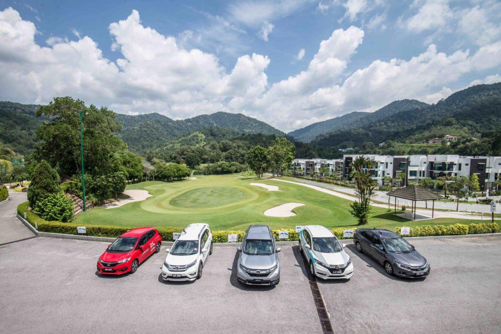 Honda at Meru Valley Resort Ipoh