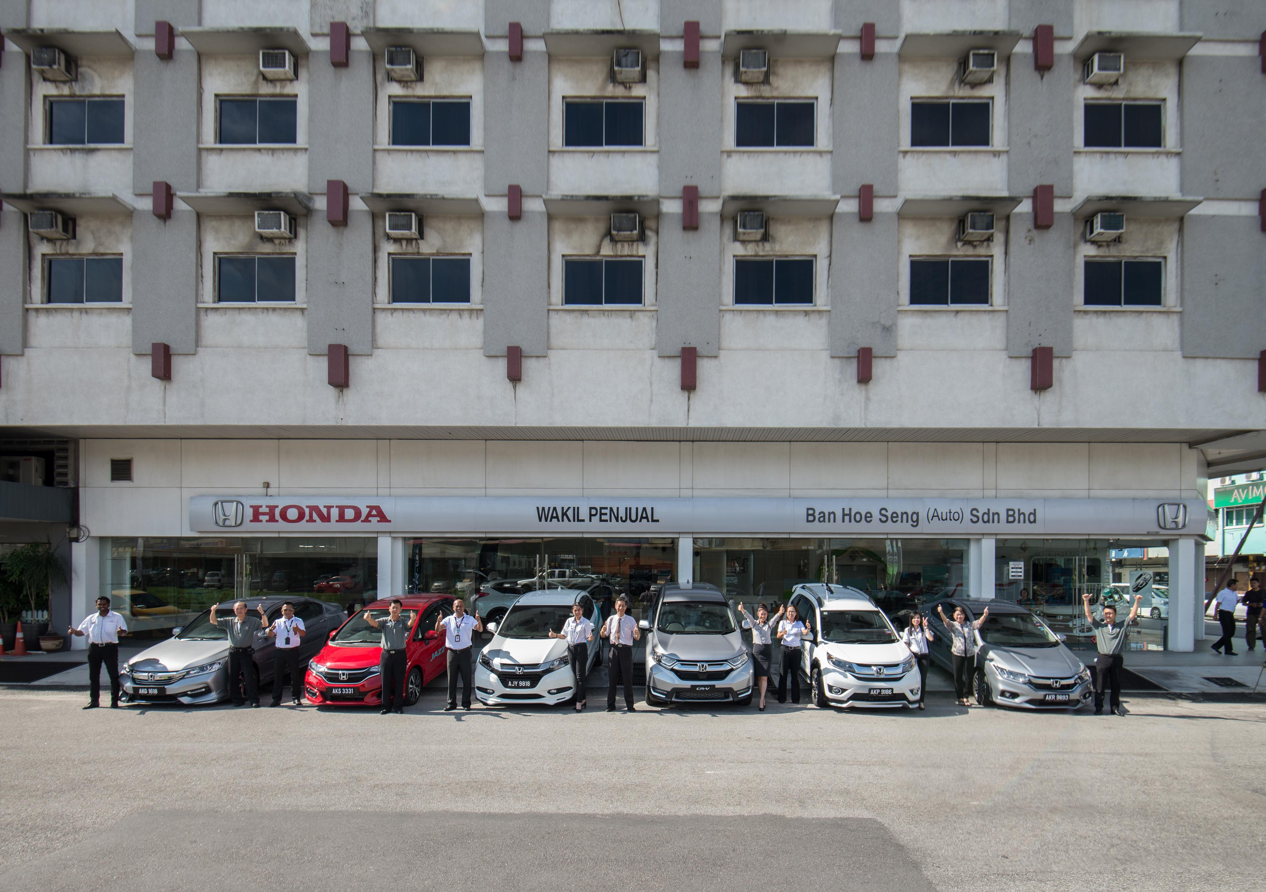 CR-V Honda Team in Ipoh