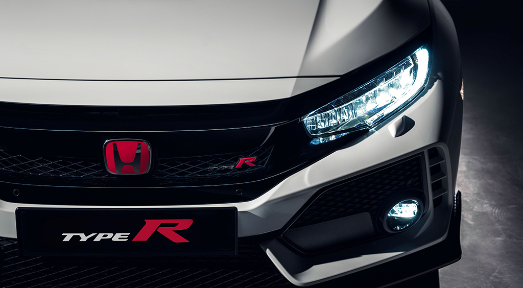 LED lights Honda Civic Type R