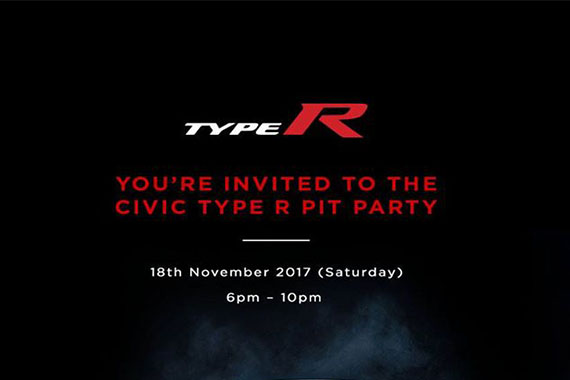 Type R launch