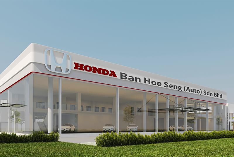 New Honda Showroom coming to Ipoh